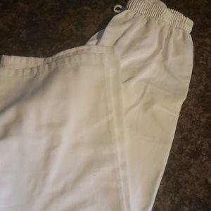 Karate pants size 3 elastic waist. 36 length.